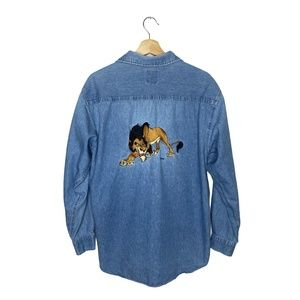 Disney The Lion King Scar Back Embroidered Graphic